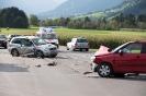 Verkehrsunfall B100 in Dölsach 2 PKWs (26.09.2015)
