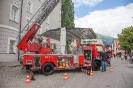 Fahrzeugschau der freiwilligen Feuerwehr Lienz im Stadtzentrum (9.7.2016)