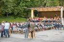 Konzert Stadtmusik Lienz beim Schloss Bruck (6.8.2016)