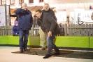 Lattl-Schießen am   Eislaufplatz am Adventmarkt Lienz mit LH Günther Platter