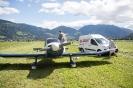 Start eines Kleinflugzeuges in Lienz nach Notlandung (17.7.2016)