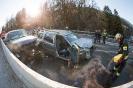 Verkehrsunfall B108 Felbertauernstraße Schlossbrücke (5.12.2016)