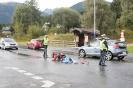 Verkehrsunfall Motorrad gegen PKW in Dölsach (4.9.2016)