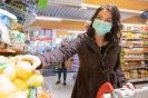Einkaufen mit Schutzmaske (30,03,2020)