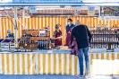 Stadtmarkt Lienz am Hauptplatz wegen Corona (10,4,2020)